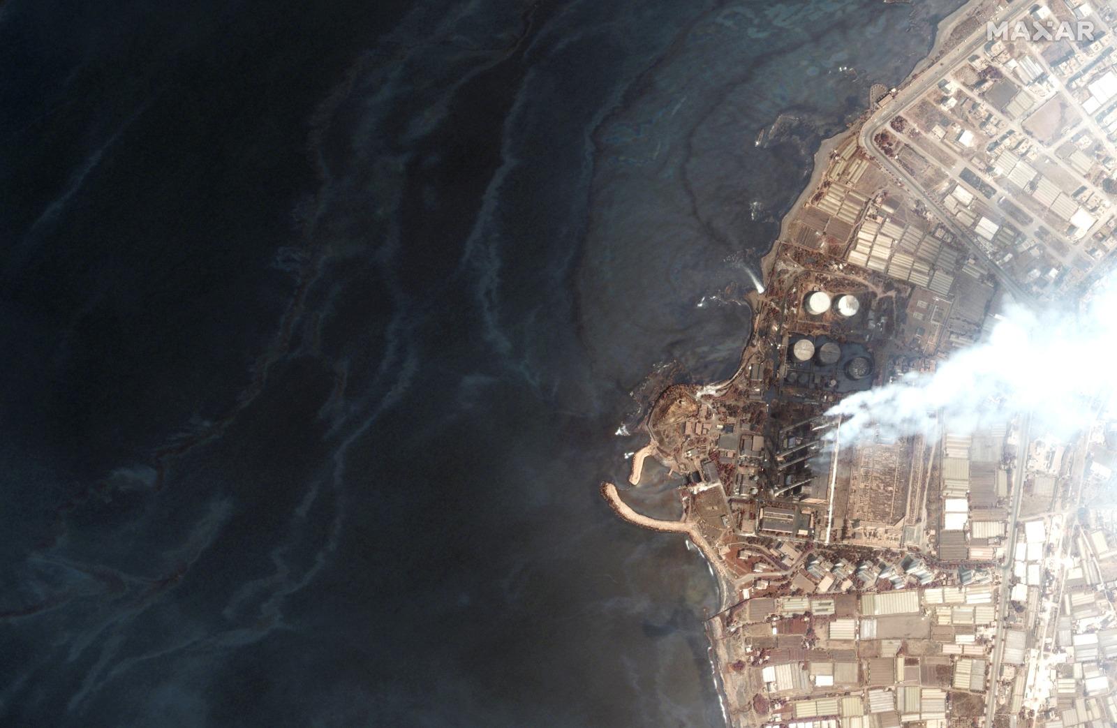דליפת נפט מסוריה מאיימת על הים התיכון