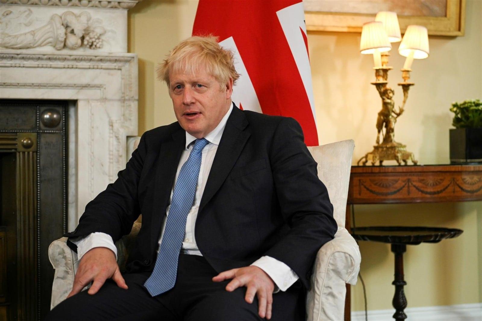 בוריס ג'ונסון ראש ממשלת בריטניה