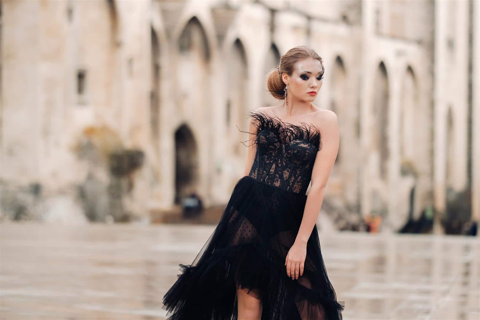 אופנה בימי קורונה: טרנד שמלות החתונה השחורות